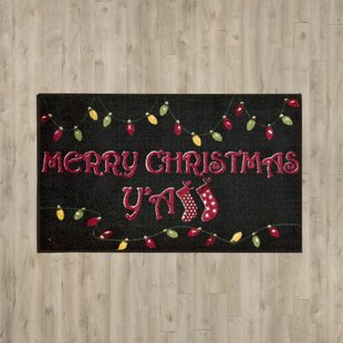 Online Reviews St. Mark's Place Contemporary Black Area Rug ByThe Holiday Aisle