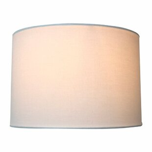Uno Drop Shallow 14 Shantung Drum Lamp Shade