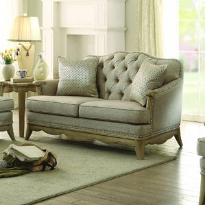 Ashden Loveseat by Homelegance