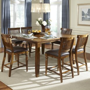 Delphina 7 Piece Counter Height Pub Set by American Heritage