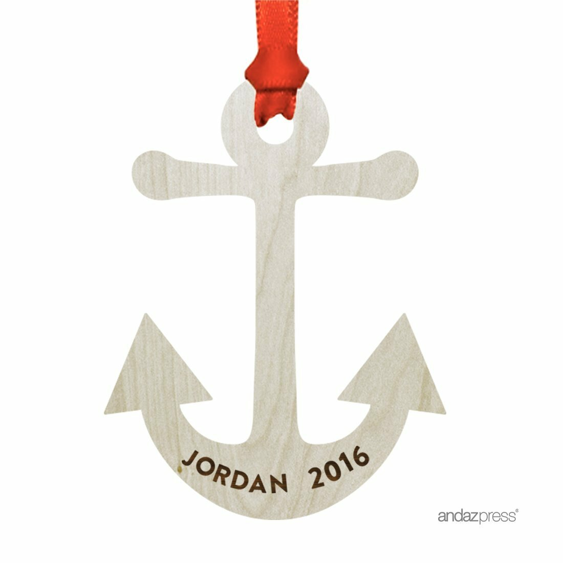 The Holiday Aisle Anchor Shaped Ornament With Gift Bag Wayfair
