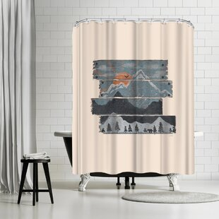 NDTank Into the Morning Single Shower Curtain