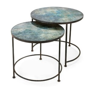 17 Stories Brunella 2 Piece Nesting Tables