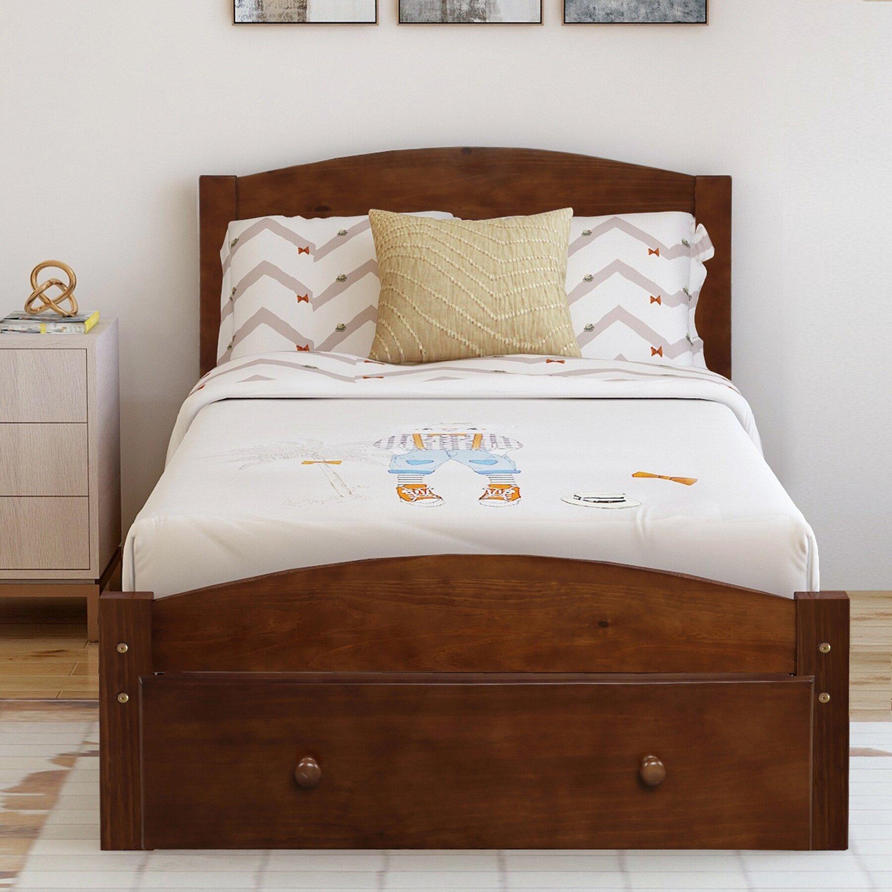 Red Barrel Studio Granita Twin Solid Wood Storage Platform Bed Wayfair