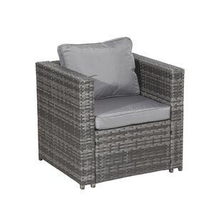 Montes Garden Chair With Cushion By Bay Isle Home