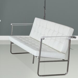 Celona Leather Sofa by Fine Mod Imports