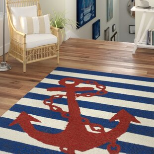 Sereno Handmade Blue Indoor/Outdoor Area Rug