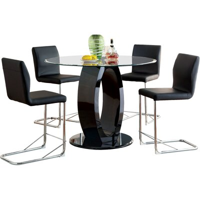 Orren Ellis Berwick 5 Piece Dining Set