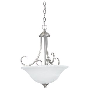 Fleur De Lis Living Westphal 3-Light Bowl Pendant