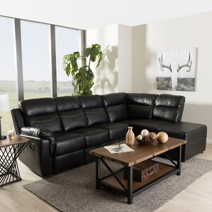 Beatrice Reclining Sectional by Wholesale In..