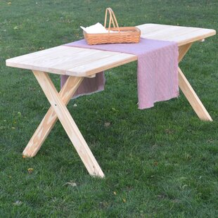 Troupsburg Wooden Picnic Bench