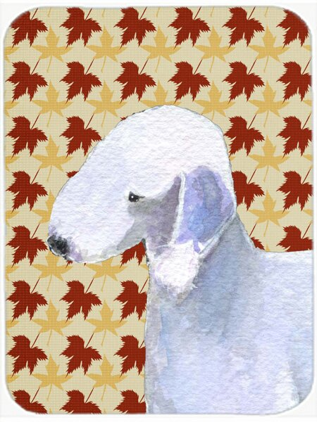 East Urban Home Bedlington Terrier Portrait Glass Cutting Board Wayfair