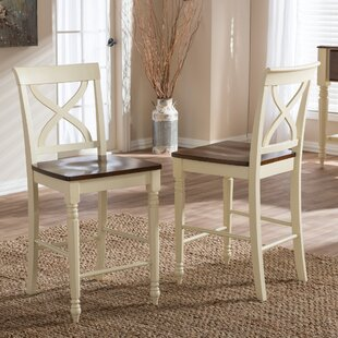 Delmi 25 Bar Stool (Set of 2) by Highland Dunes