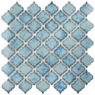 Pharsalia 2 inch  x 2.25 inch  Porcelain Mosaic Tile