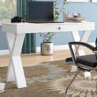 Grovetown Campaign Solid Wood Writing Desk by Latitude Run