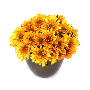 Fake yellow flowers wayfair quickview mightylinksfo