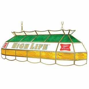 Trademark Global Miller High Life 3-Light Pool Table Light