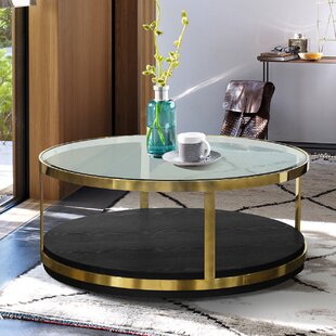 Gelston Coffee Table by Everly Quinn