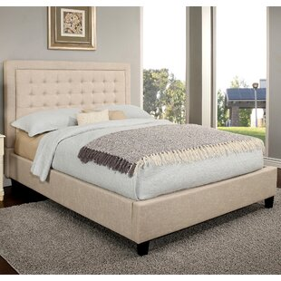 Ivy Bronx Gwyneth Tufted Upholstered Panel Bed