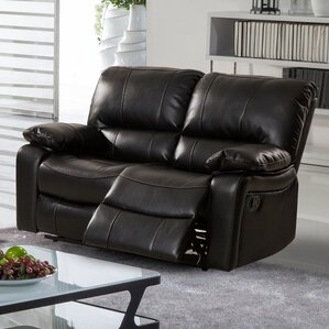 Layla Breathing Reclining Loveseat by Living In Style