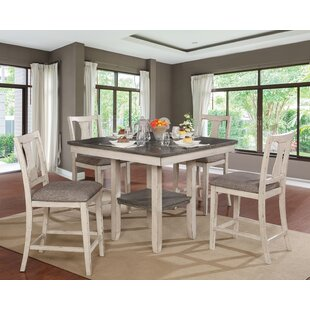 Ember 5 Piece Counter Height Dining Set Highland Dunes