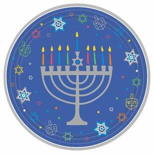 Hanukkah Plates Wayfair
