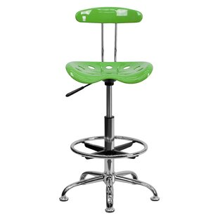 Flash Furniture Personalized High-Back Drafting Chair