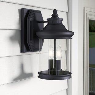 Laurel Foundry Modern Farmhouse Justine 2-Light Outdoor Wall Lantern