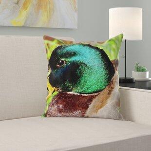 Duck Throw Pillow Wayfair
