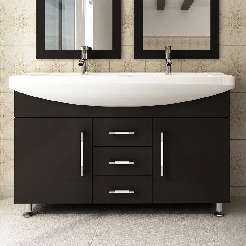 Jwh Living Celine 48 Double Bathroom Vanity Reviews Wayfair