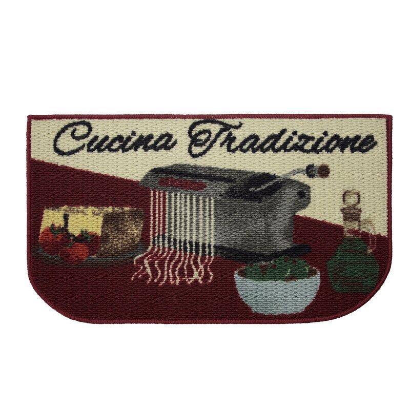 Textured Loop Cucina Tradizone Kitchen Area Rug
