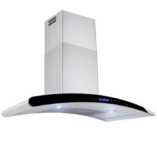 flush mount vent hood 36 flush ceiling range hood wayfair