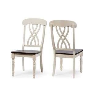 Caddell Solid Wood Dining Chair (Set of 2) by Darby Home Co