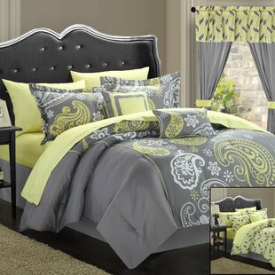 Amberly 20 Piece Reversible Comforter Set by Red Barrel Studio
