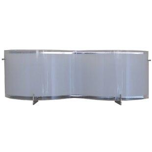 Latitude Run Cutler 2-Light LED Bath Bar