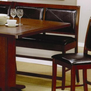 Est Counter Height Dining Corner Faux Lea..