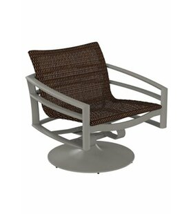 Kor Woven Swivel Action Patio Chair