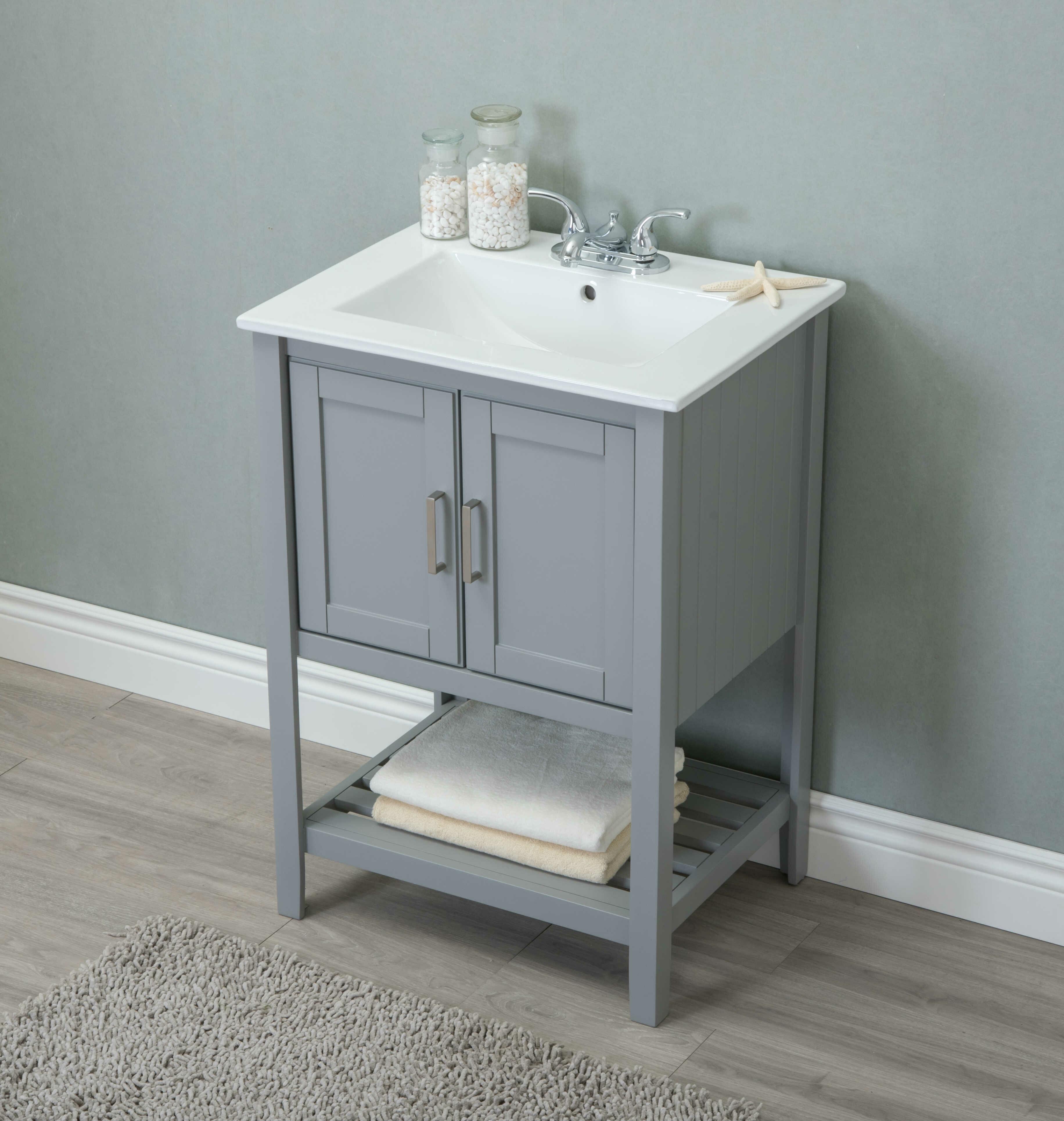 """Reynal 5"""" Single Bathroom Vanity Set"""