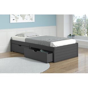 Collings Twin Platform Bed with Drawer