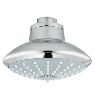 Affordable Euphoria 2.5 GPM Shower Head with DreamSpray ByGrohe