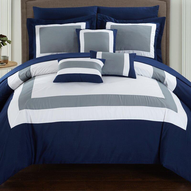 Charlton Home Chenard 10 Piece Comforter Set Reviews Wayfair
