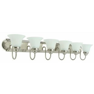 Affordable 6-Light Vanity Light By Monument