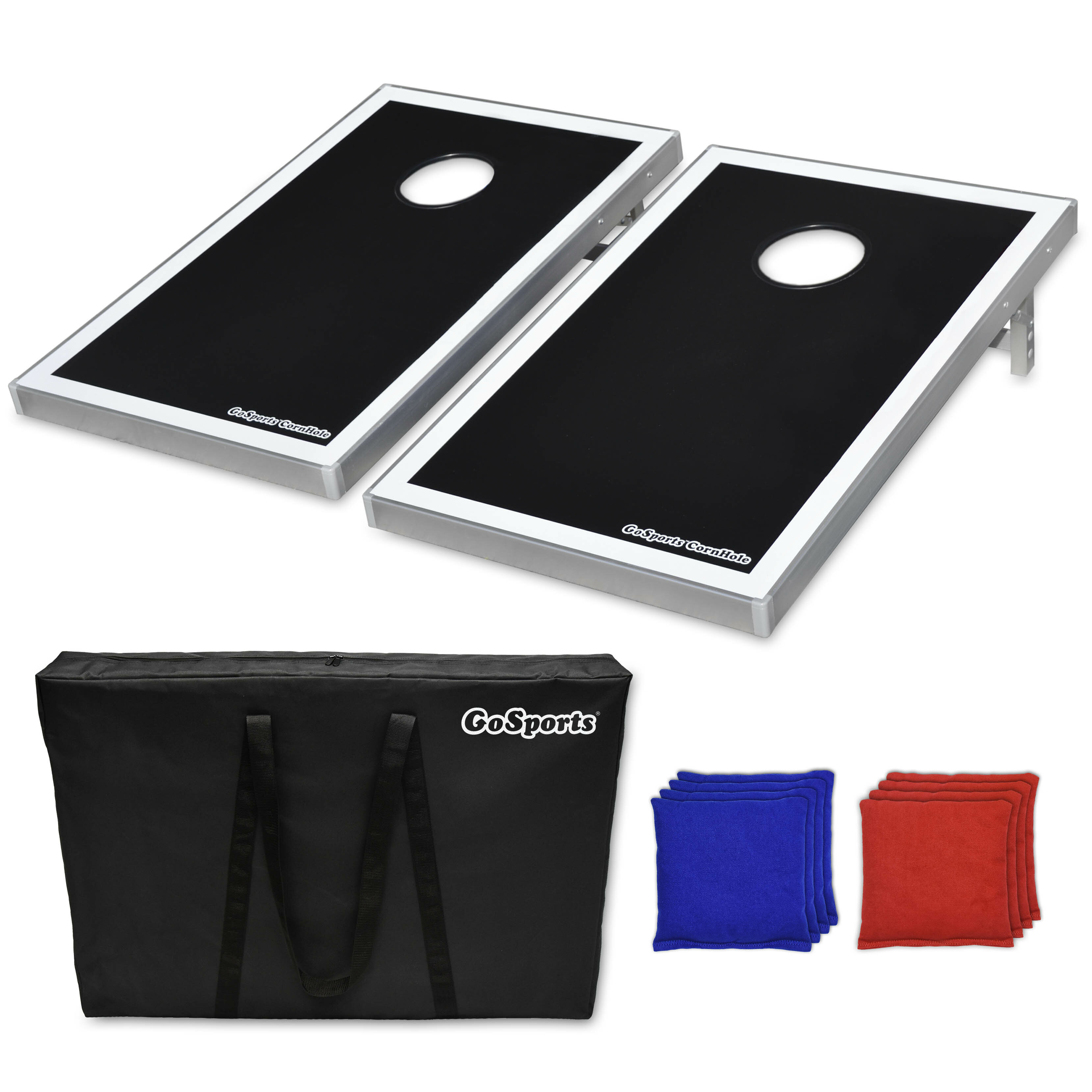 Groovy 2 X 3 Gopong Metal Cornhole Board With Carrying Case Short Links Chair Design For Home Short Linksinfo