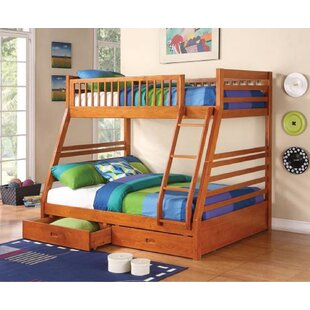 Culpepper Twin Over Full Bunk Bed with Drawers