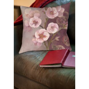 Gypsy Blossom II Printed Throw Pillow