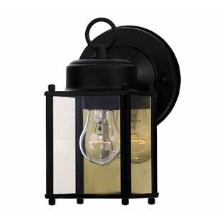 Lawhorn 1-Light Outdoor Wall lantern