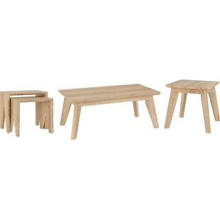 Finley 3 Piece Coffee Table Set By 17 Stories