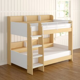 Abby Single Bunk Bed With Bookcase By Just Kids