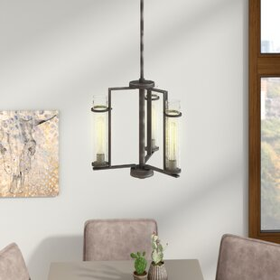 Trent Austin Design Wetumka 3-Light Shaded Chandelier