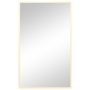 Top Reviews Cornett Rectangular Unframed Wall Mirror By Rosecliff Heights